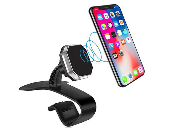 Universal Magnetic Phone Mount for Vehicles + Offices