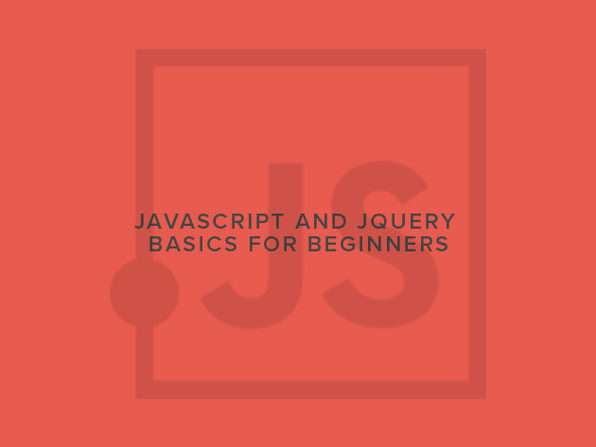 Javascript and jQuery Basics for Beginners - Product Image