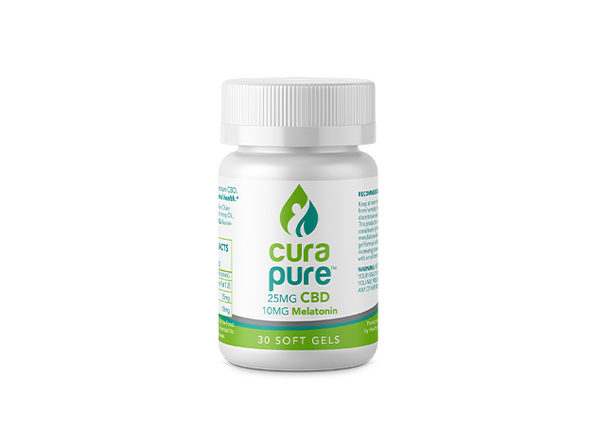 Curapure CBD Softgels (Sleep Aid Formula)