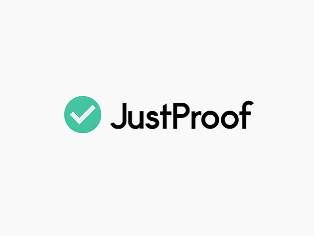 Stack Social Deal for JustProof Social Proof Notifier: Lifetime Subscription