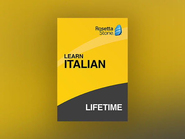 Rosetta Stone: Lifetime Subscription (Italian)