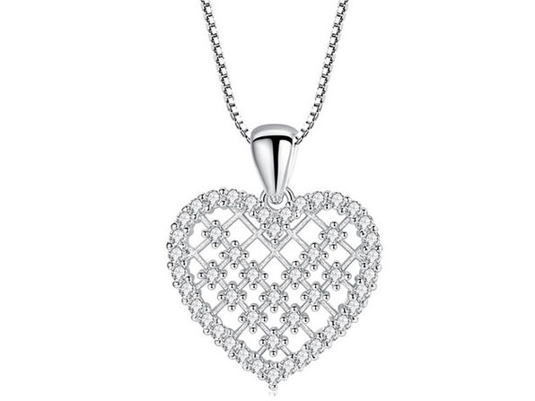 Eternal Love Heart Necklace - Product Image