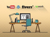Freelancing with YouTube, WordPress, Upwork, and Fiverr - Product Image