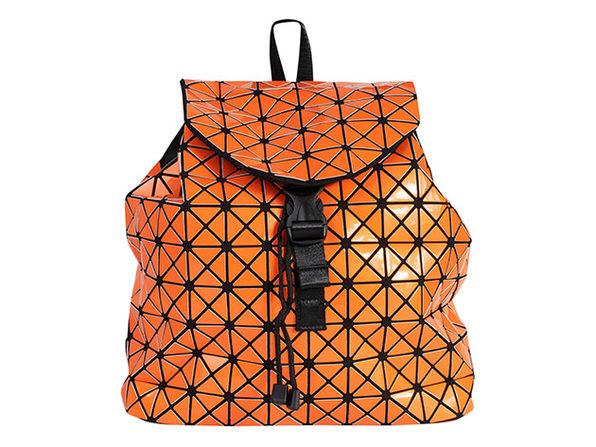 Geo Shaped Backpack (Orange)