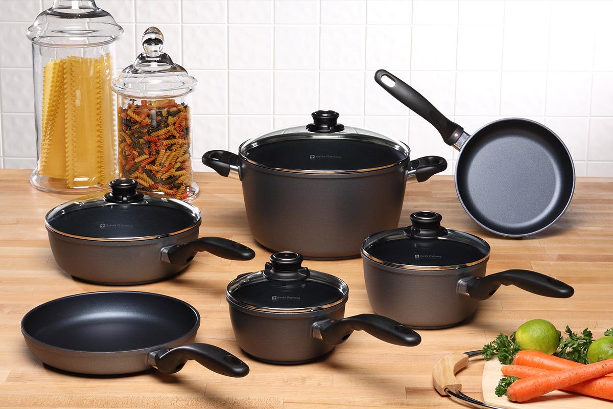Pots and pans.