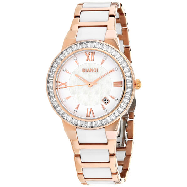 Roberto Bianci Women's Allegra White MOP Dial Watch - RB58721