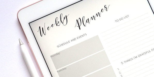 Design a Digital Productivity Journal for Your iPad - Product Image