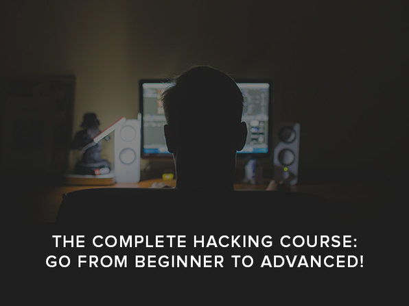 The Complete Hacking Course: Go from Beginner to Advanced! - Product Image