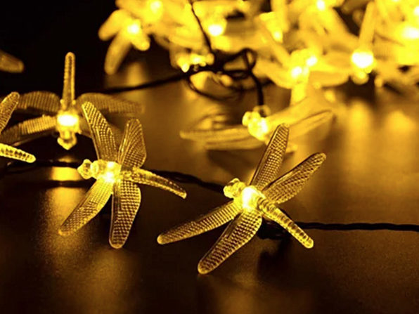 Firefly String Lights Gorgeous Solar Powered Firefly String Lights Soft Yellow StackSocial