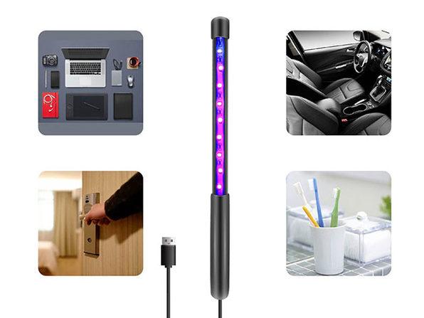 USB-Powered UV-C Sanitizing Wand: 2-Pack