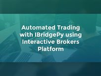 Automated Trading with IBridgePy Using Interactive Brokers Platform - Product Image