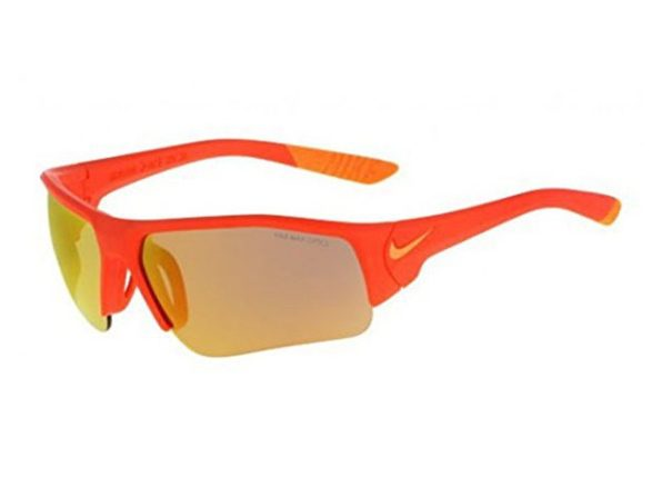 Nike Golf Skylon Ace Sunglasses EV0910-800 XV Junior Matte Orange Frame - Orange