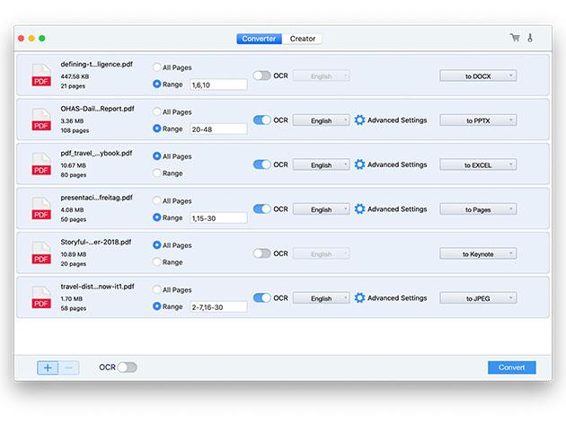 Stack Social Deal for Cisdem PDF Converter OCR: Lifetime Subscription (2 Macs)