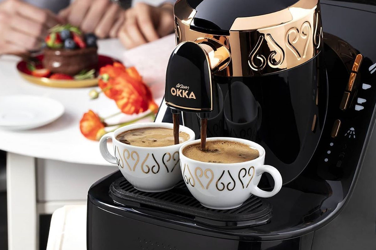 Arzum Okka Automatic 120V Turkish Coffee Maker, now on sale for $224.99 when you use the coupon code COFFELOVE10 at checkout