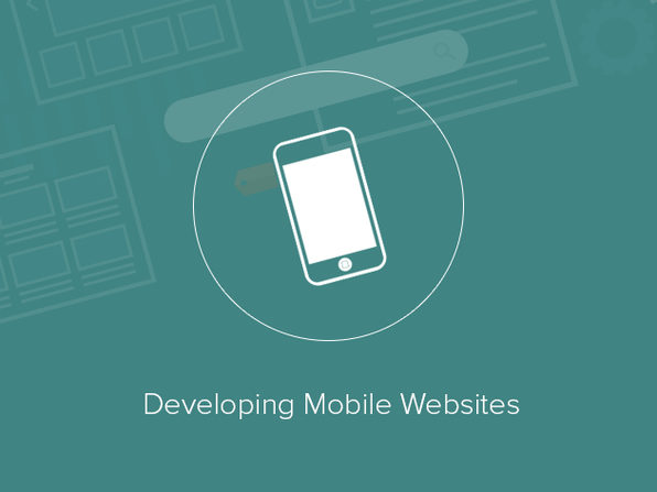Developing Mobile Websites - Product Image