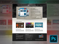 7 Photoshop Web Design Projects: Learn Web Design By Doing - Product Image