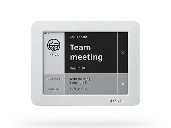 Joan 6: Meeting Room Display (Slate Grey)