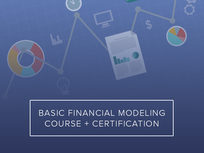 Basic Financial Modeling Course + Certification - Product Image