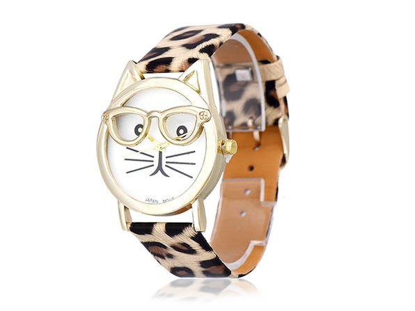 The Purr-Fect Watch - Leopard - Product Image