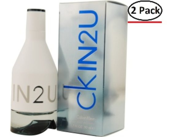 CK IN2U by Calvin Klein EDT SPRAY 1.7 OZ for MEN ---(Package Of 2) - Product Image