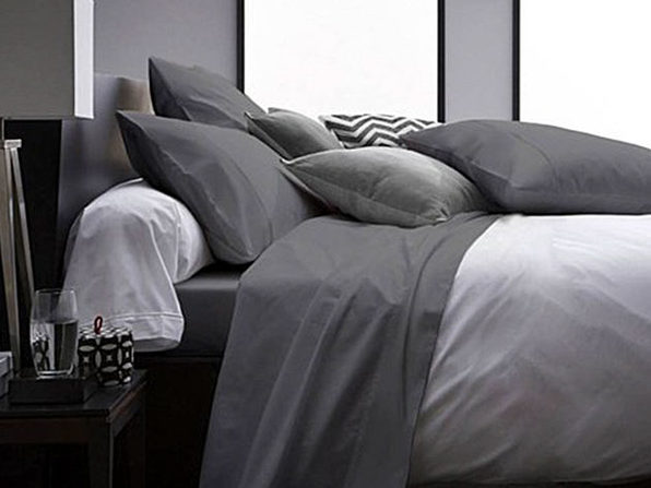 Ultra Soft 1800 Series Bamboo Bed Sheets: 4-Piece Set (Queen/Grey)
