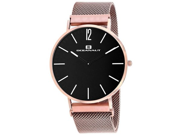 Oceanaut Men's Magnete Black Dial Watch - OC0106