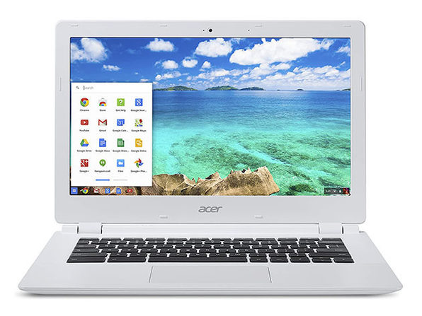 "Acer 13.3"" Chromebook 4GB RAM 16GB SSD - White (Refurbished)"