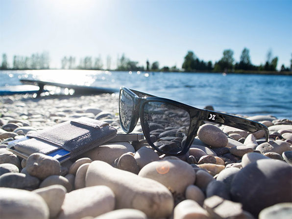f8e58a70523 Up to 99% Off Superior Matte Black Polarized Floating Sunglasses