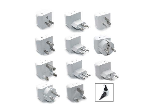 International Travel Adapter 11-Piece Plug Set
