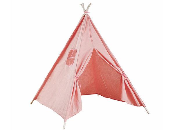 Kids Indoor Tipi Tent Pink - Product Image