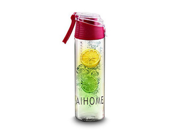 Fruit Infusing Water Bottle- Red - Product Image