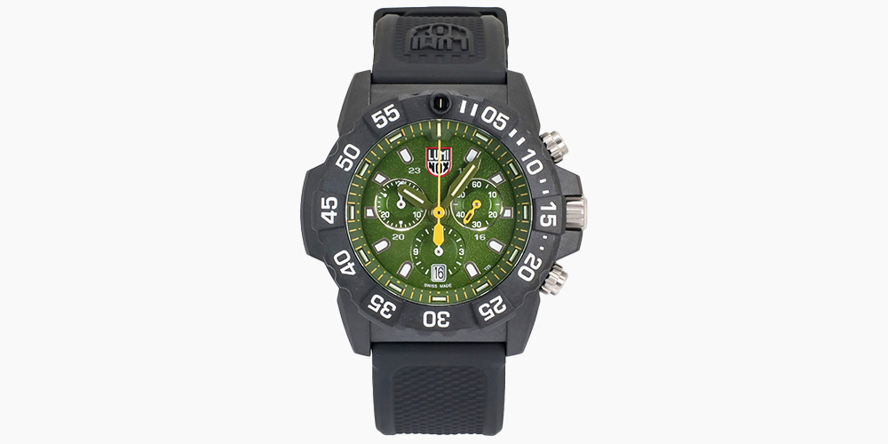 Luminox Navy SEAL Chronograph Quartz Men's Watch XS.3597 (Store-Display Model) on sale for $259 (52% off)