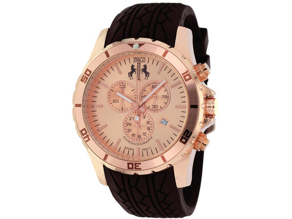 Jivago Men's Rose gold tone Dial Watch - JV0122 - Product Image