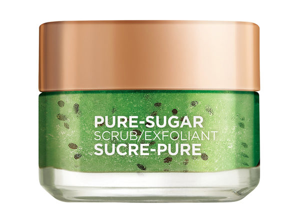 L'Oréal Paris Pure Sugar Scrub Purify & Unclog, Works to Remove Oils, Dirt and Impurities, Adult, Unisex, 1.7 fl oz