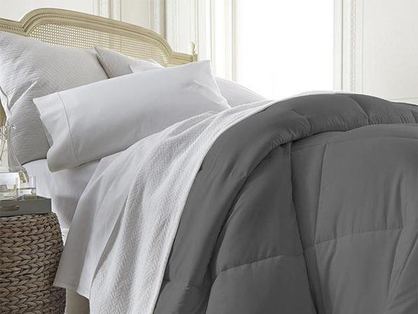 iEnjoy Home Down Alternative Comforter (Grey/King)