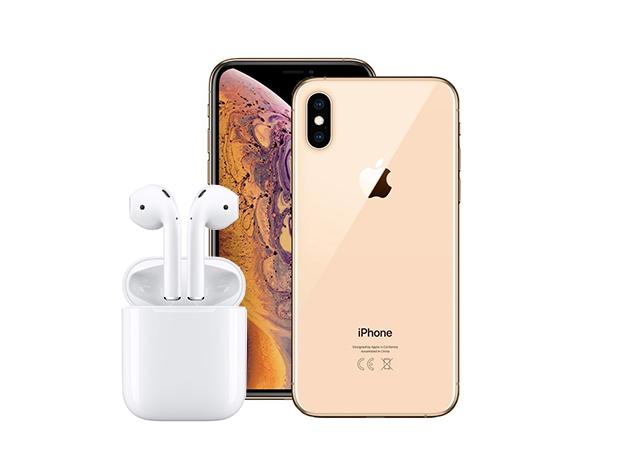 Want a free iphone or AirPods? How about both? Enter our giveaway right now in the Daily Caller shop for a chance to win!