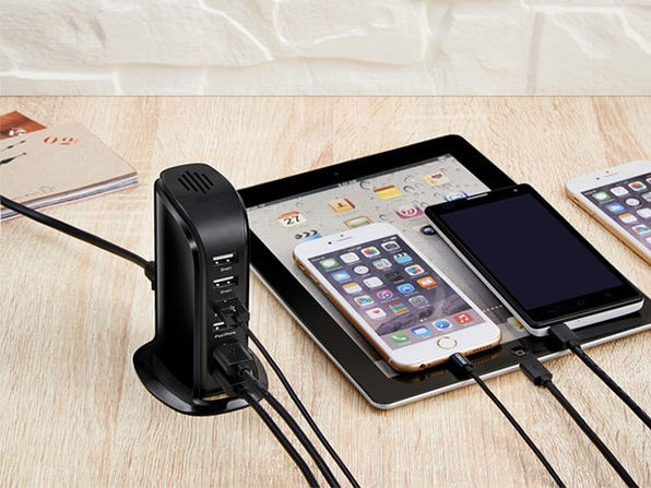 Kinkoo 40W 6-Port High Speed Charger