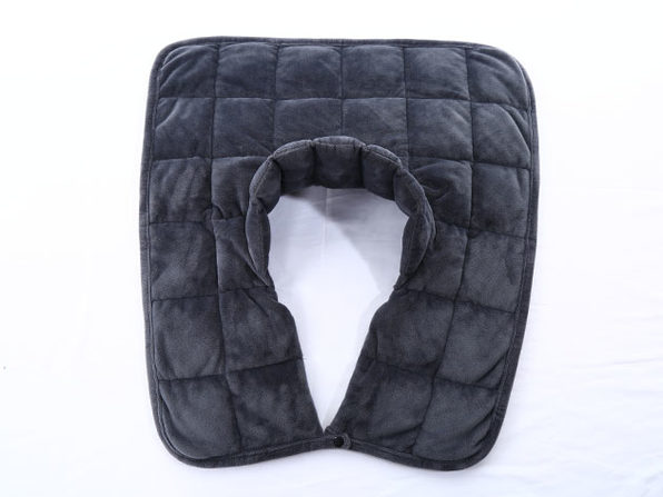 Kathy Ireland Weighted Neck & Shoulder Wrap (Charcoal Grey)