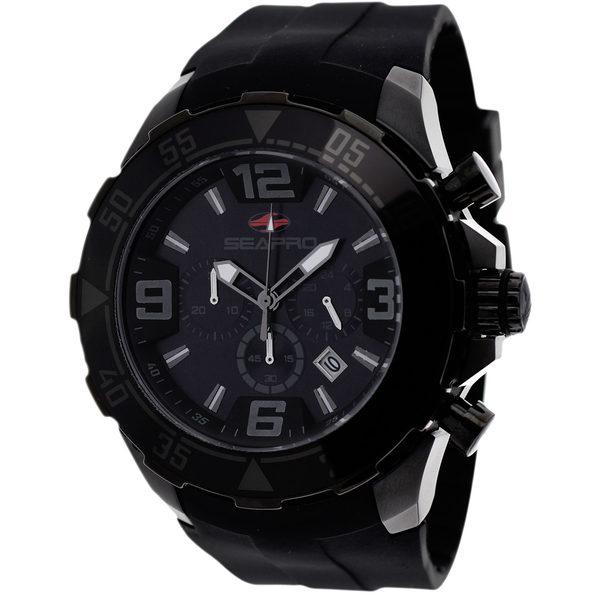 Seapro Men's Diver Black Dial Watch - SP1122 - Product Image