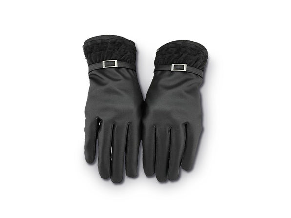 iPM Touchscreen Gloves (Women's Faux Fur & Wool)