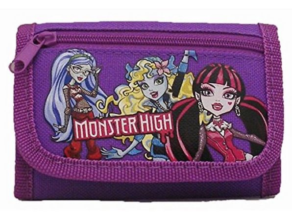 Monster High Tri-Fold-Wallet - Purple