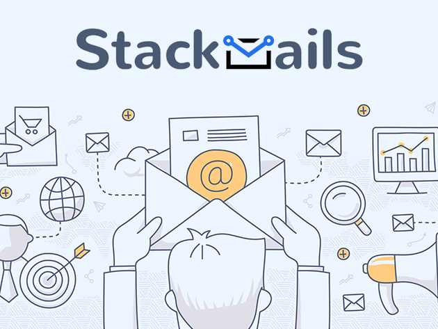 Stackmails Email Automation Unlimited Plan: Lifetime Subscription - Easily Create Custom Email & Drip Campaigns with Tools for Automation, Analytics, Personalization & More