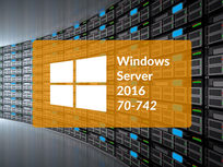 Microsoft 70-742: Identity With Windows Server 2016 - Product Image