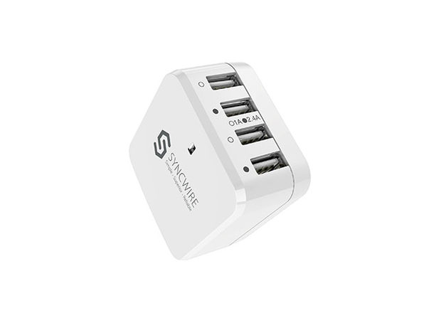 Syncwire 6.8A 34W 4-Port USB Wall Charger