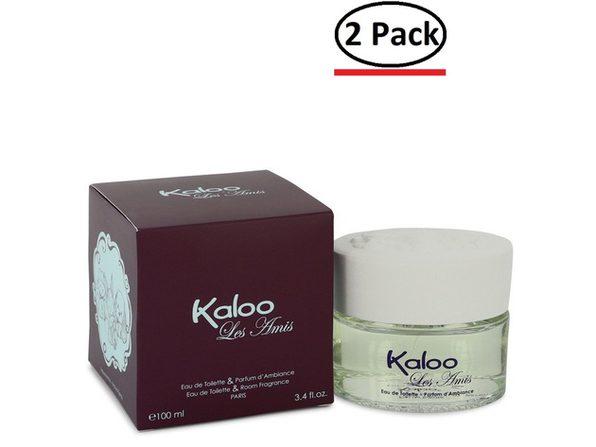 Kaloo Les Amis by Kaloo Eau De Toilette Spray / Room Fragrance Spray 3.4 oz for Men (Package of 2)