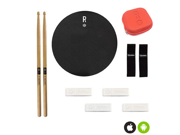 Senstroke by Redison Bluetooth Drum Kit + App (Ultimate Box)