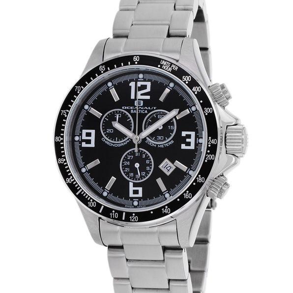 Oceanaut Men's Black Dial Watch - OC3320