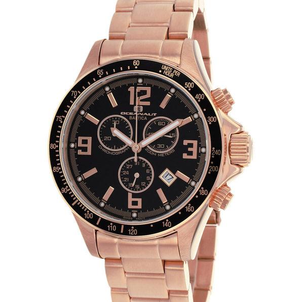 Oceanaut Men's Baltica Black Dial Watch - OC3329