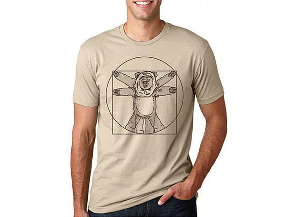 Da Vinci Ewok T-Shirt