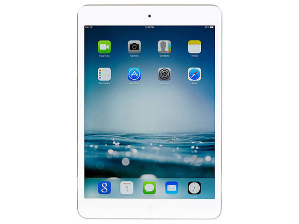 Apple iPad Mini 2 with Retina Display, 16GB - Silver (Refurbished: Wi-Fi Only)
